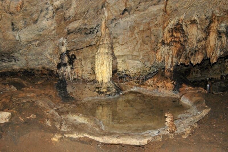 Caverna Rasnov immagine stock