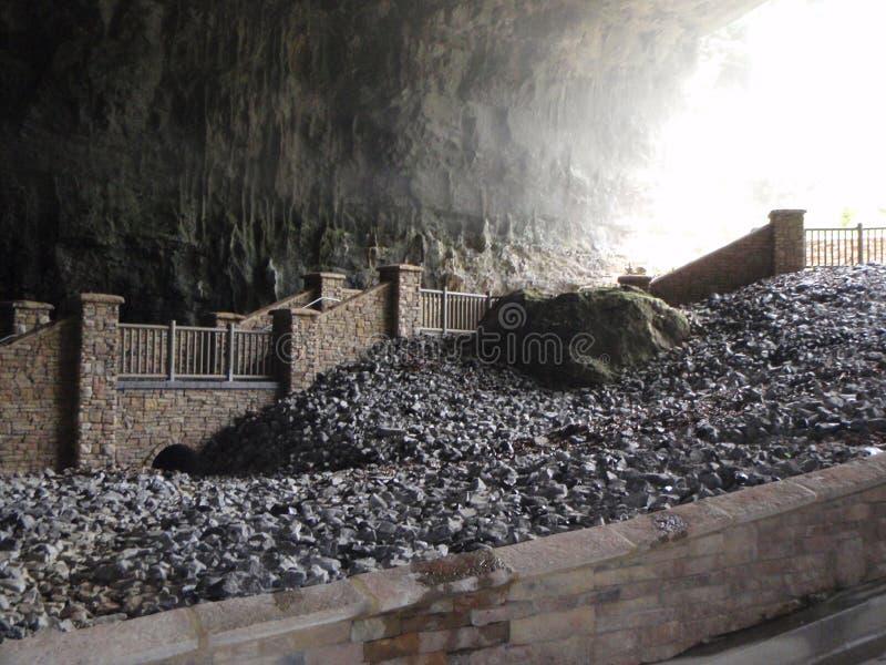 Cavernas da catedral foto de stock