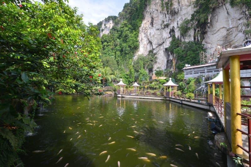 Cavernas de Batu imagem de stock