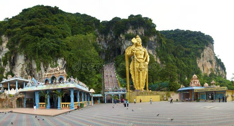 Cavernas de Batu imagens de stock royalty free