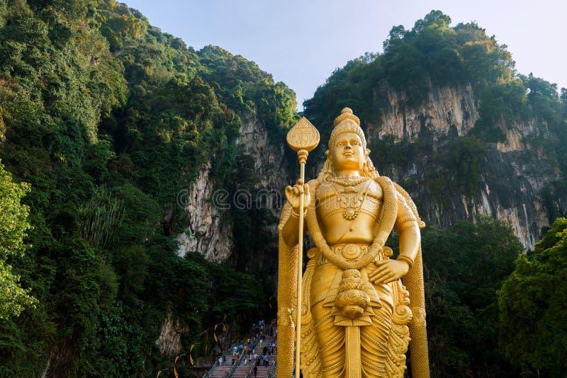 Cavernas de Batu, Malásia fotos de stock
