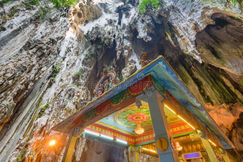 Cavernas de Batu, Mal?sia fotografia de stock royalty free