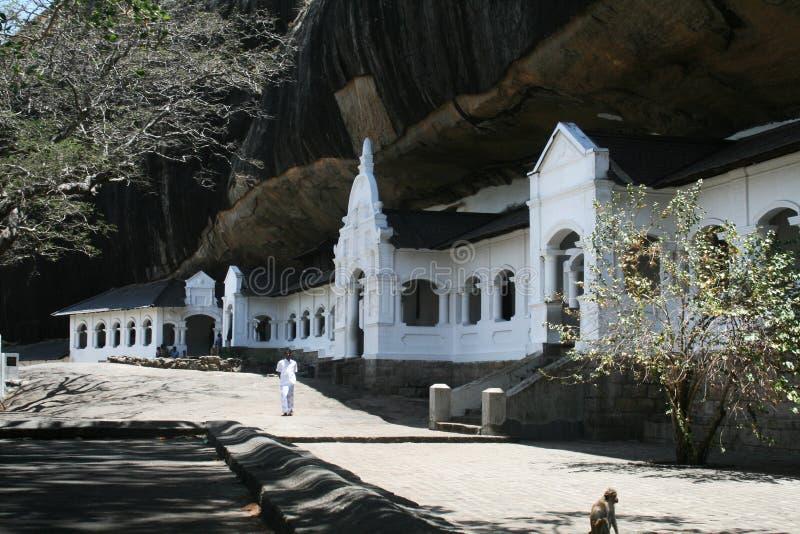 Cavernas de Dambulla imagens de stock