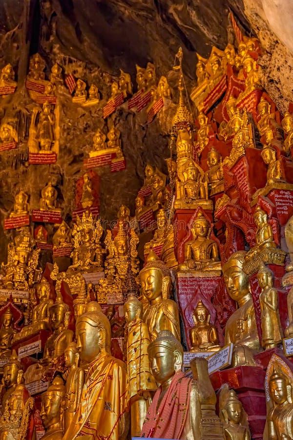 Cavernas de Pindaya fotos de stock