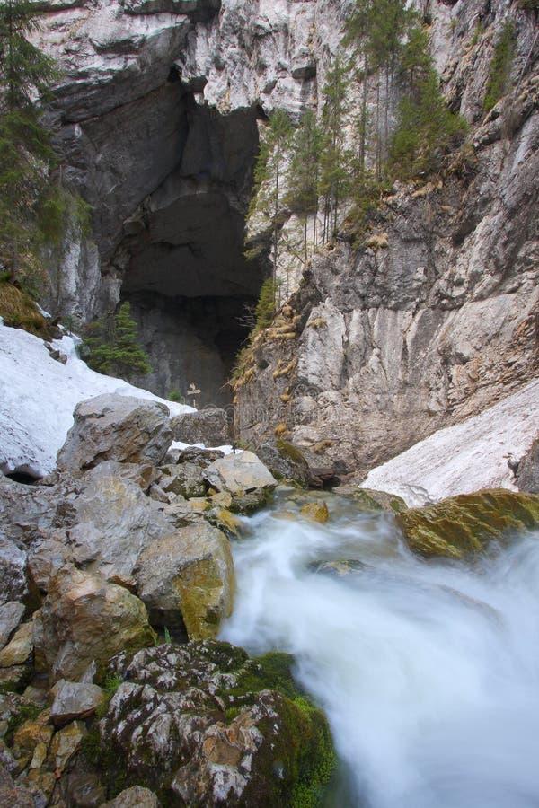 Cavernas de Ponorului imagens de stock