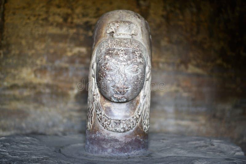 Cavernas de Udayagiri, Vidisha, Madhya Pradesh foto de stock