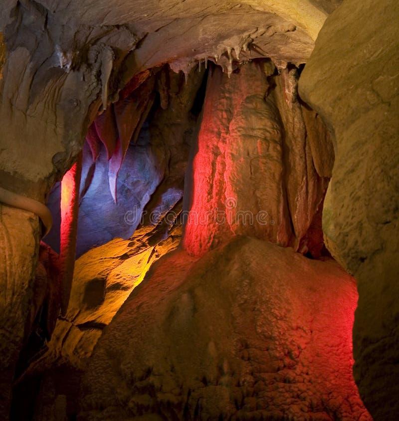 Cavernas del horizonte imagen de archivo