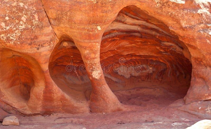 Cavernas do arenito fotografia de stock royalty free
