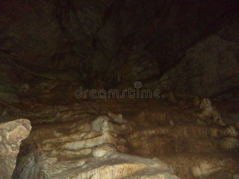 Cavernas novas de Athos fotografia de stock