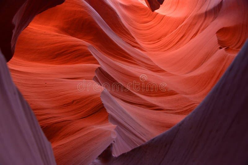 Cavernas vermelhas fotos de stock royalty free