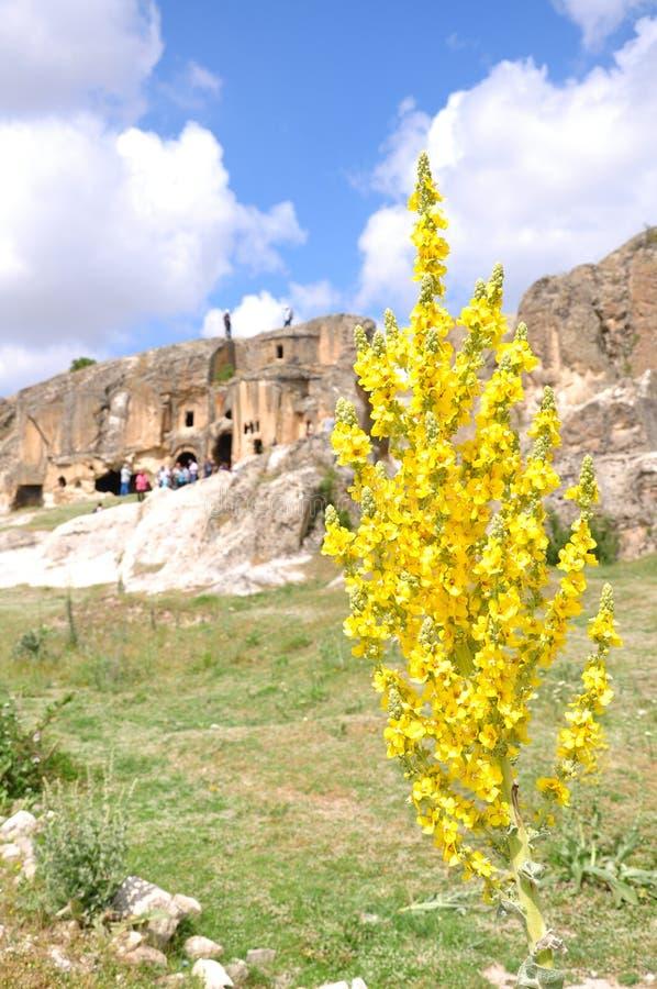 Caverne in Anatolia fotografie stock libere da diritti