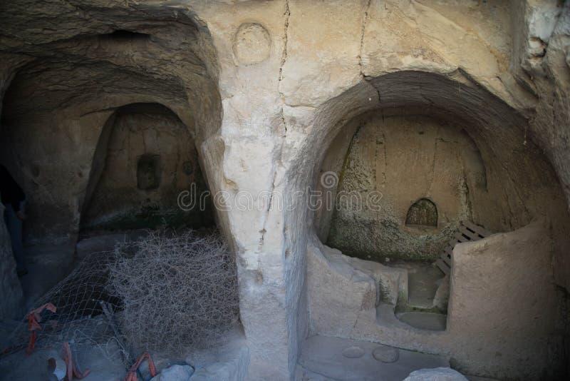 Caverne antique images libres de droits