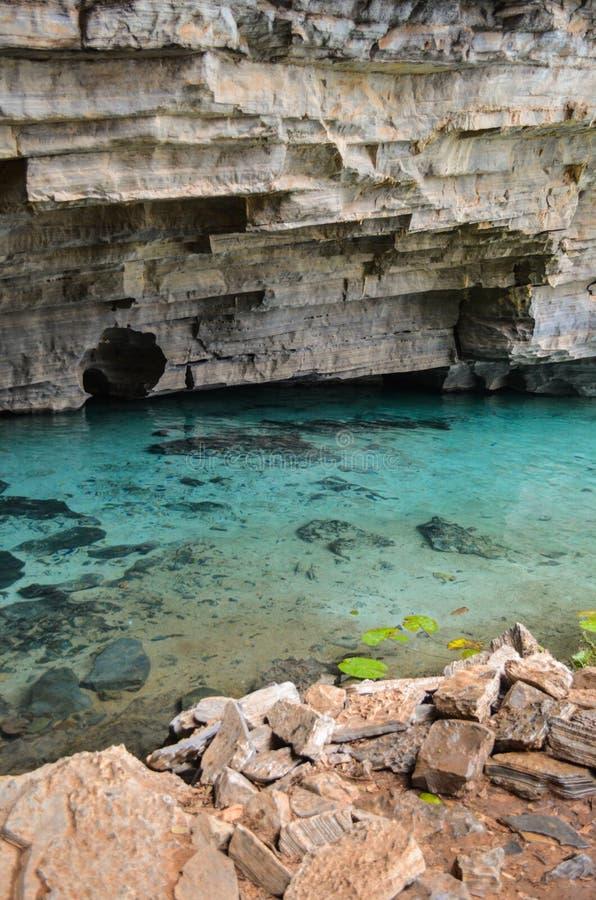 Caverne bleue photographie stock libre de droits