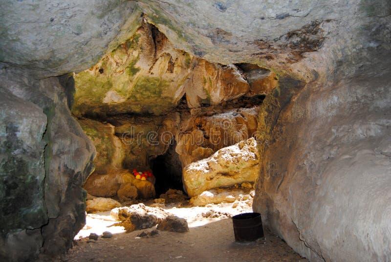 Caverne centrale de miroir images stock