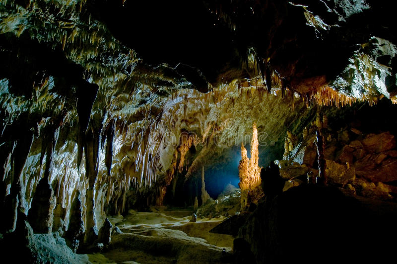 Caverne de Comarnic photos libres de droits