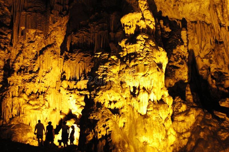 Caverne de Crète Melidoni images libres de droits