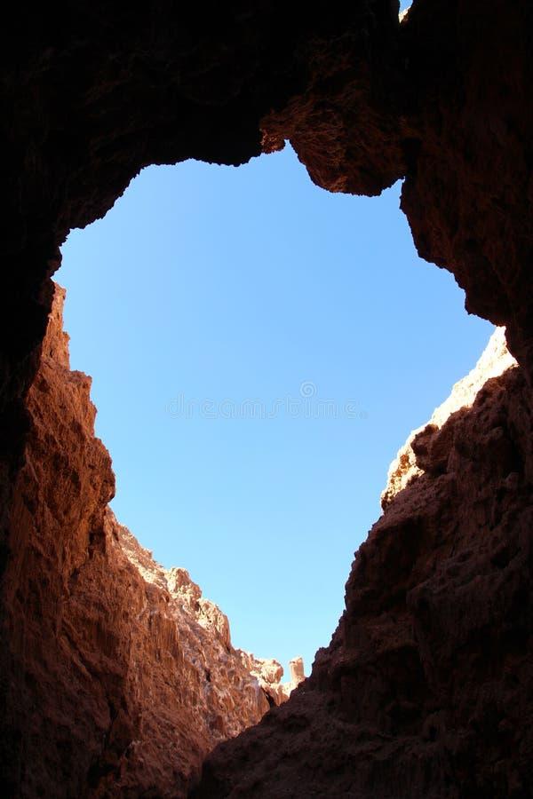 Caverne de Luna de La de Valle De photos libres de droits