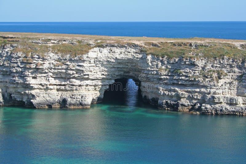 Caverne de mer image stock