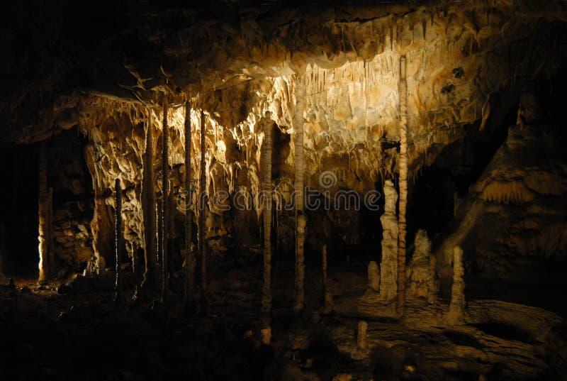 Caverne de Moravian images libres de droits