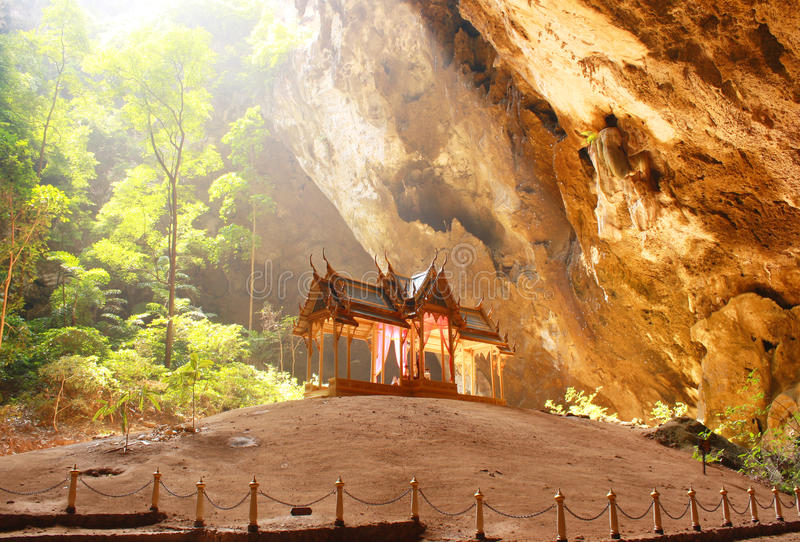Caverne de Phraya Nakhon, Khao, Sam Roi Yod National Park, Prachuap Khiri Khan Thailand photo stock