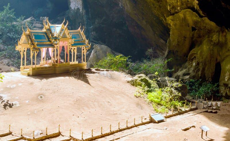Caverne de Phraya Nakhon Khao Sam Roi Yot National Park en Thaïlande photo libre de droits