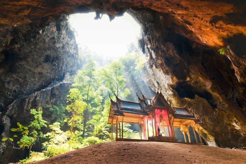 Caverne de Phraya Nakorn images libres de droits