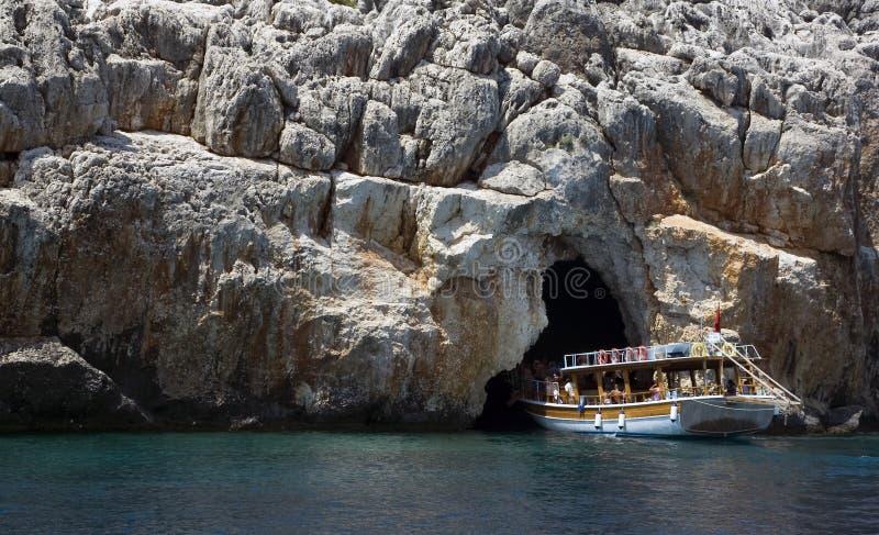Caverne de pirate images stock