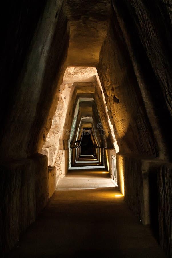 Caverne de Sybil image libre de droits