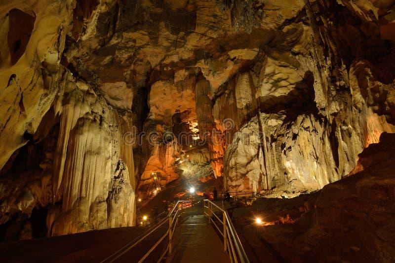 Caverne de Tempurung photo stock