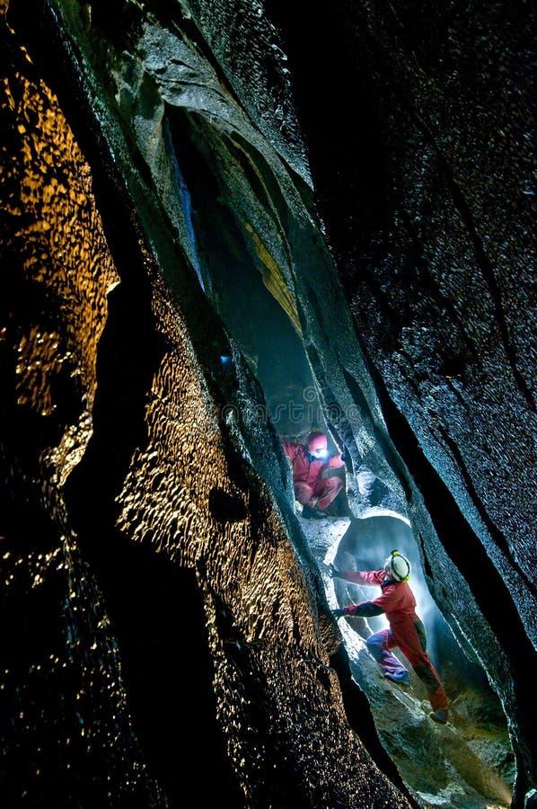 Caverne de Topolnita image libre de droits