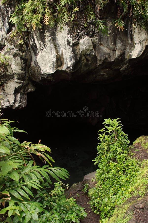Caverne de Waianapanapa photos libres de droits