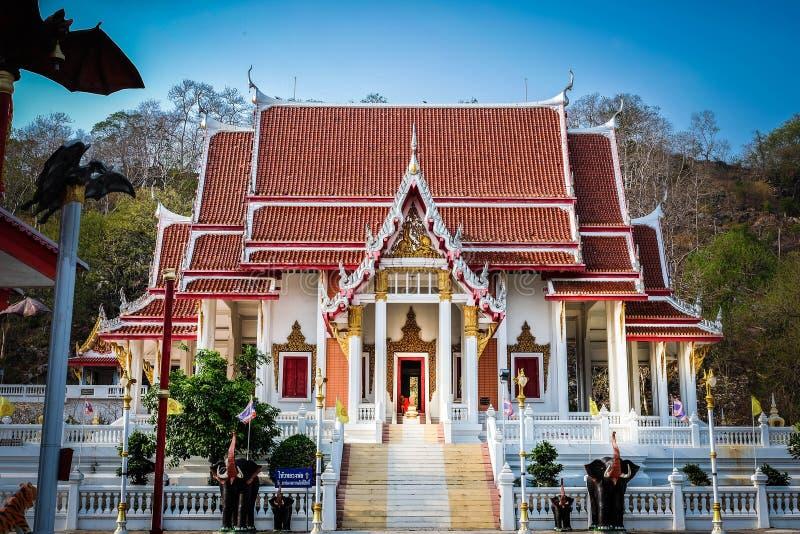 Caverne de Wat Khao Chong Phran Bat photos libres de droits