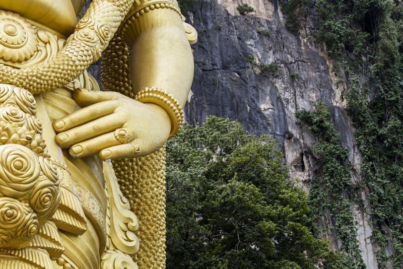 Caverne di Batu in Malesia fotografia stock