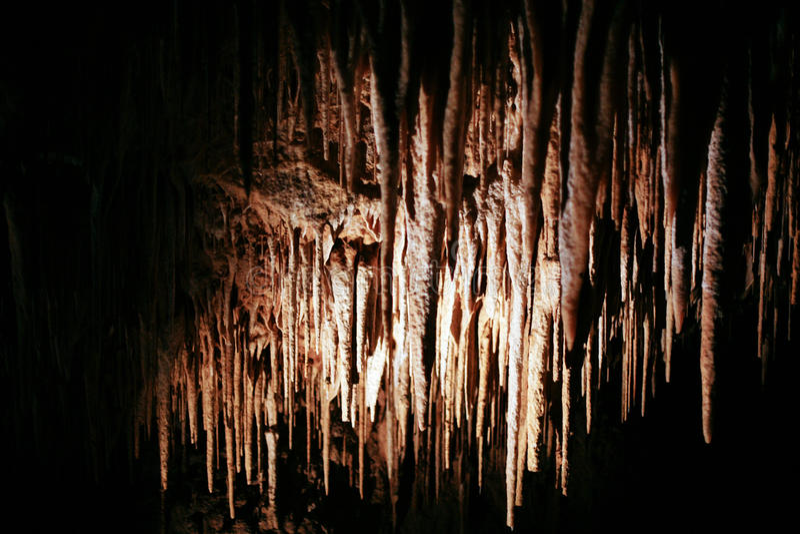 Caverne di Hastings immagine stock