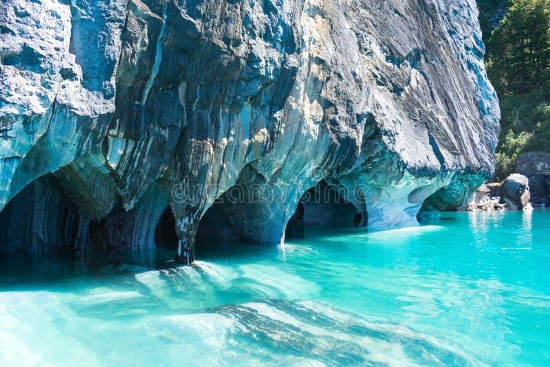 Caverne di marmo immagine stock