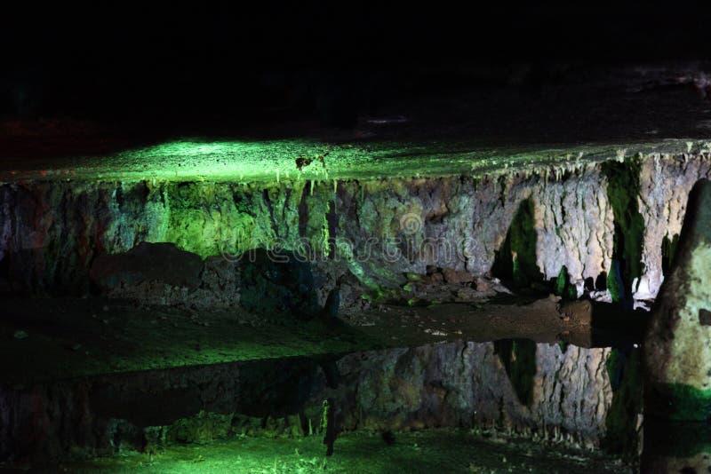 Caverne di Sudwala fotografia stock libera da diritti