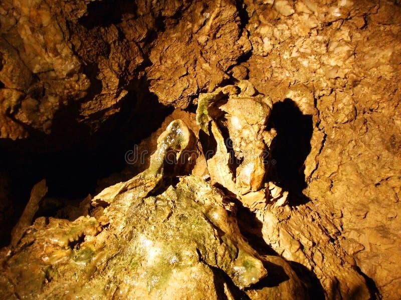 Caverne en cristal Kobelwald ou matrice Kristallhöhle Kobelwald Kristallhohle Kobelwald ou Kristallhoehle Kobelwald photo libre de droits