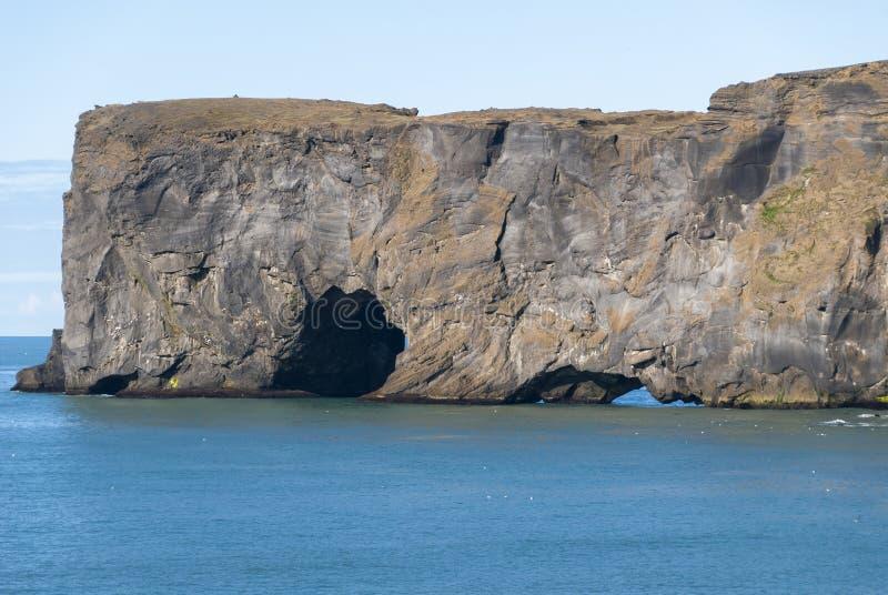 Caverne en Islande images stock