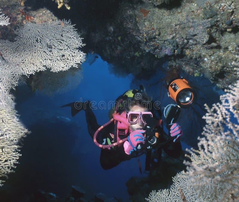 Caverne faite sur commande, Solomons photo libre de droits