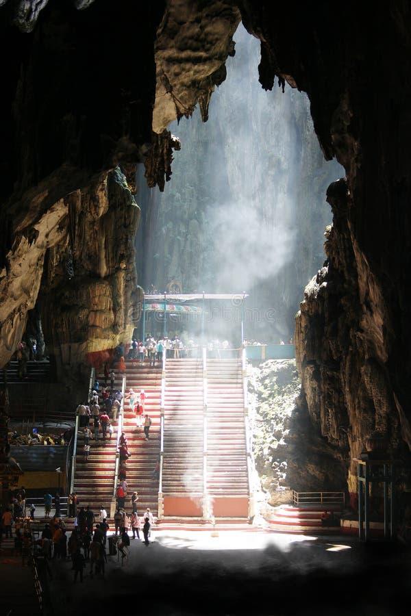 Caverne Malaisie de Batu photographie stock libre de droits