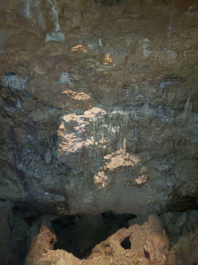 Caverne naturali fotografia stock
