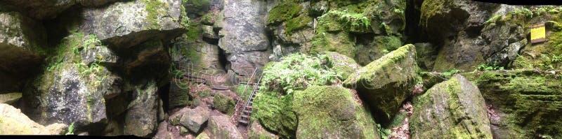 Caverne sceniche immagini stock