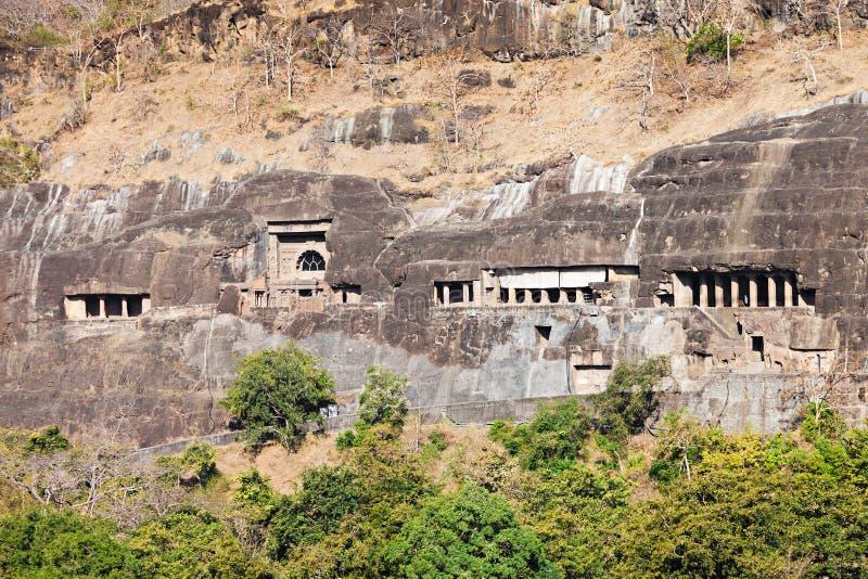 Cavernes d'Ajanta, Inde image libre de droits