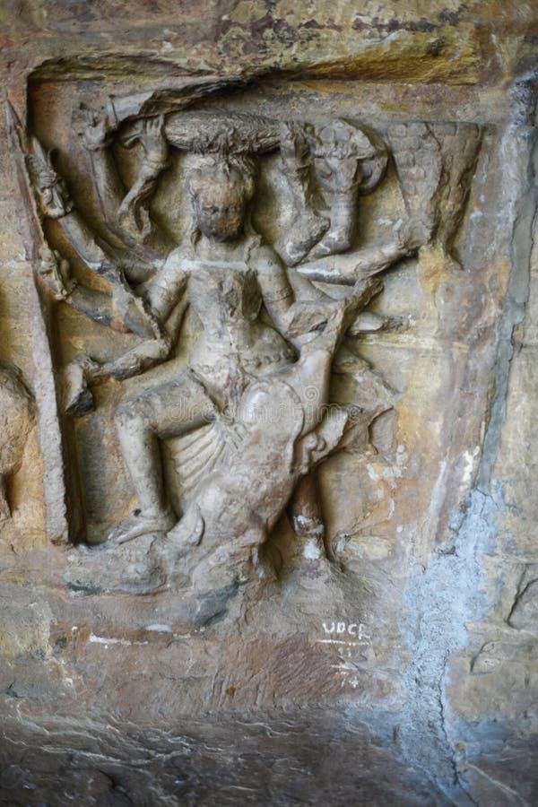 Cavernes d'Udayagiri, Vidisha, Madhya Pradesh photos stock