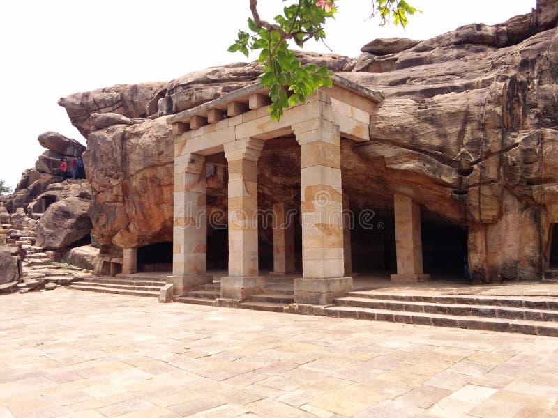 Cavernes d'Udaygiri photographie stock