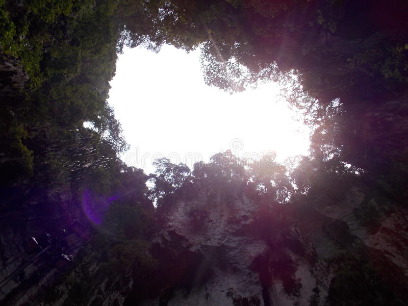Cavernes de Batu image stock