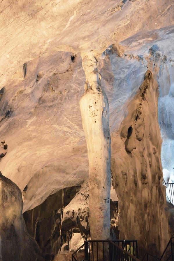 Cavernes de Batu photo libre de droits