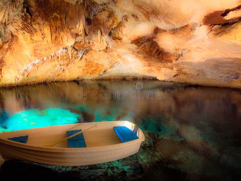 Cavernes de Chrystal photos libres de droits