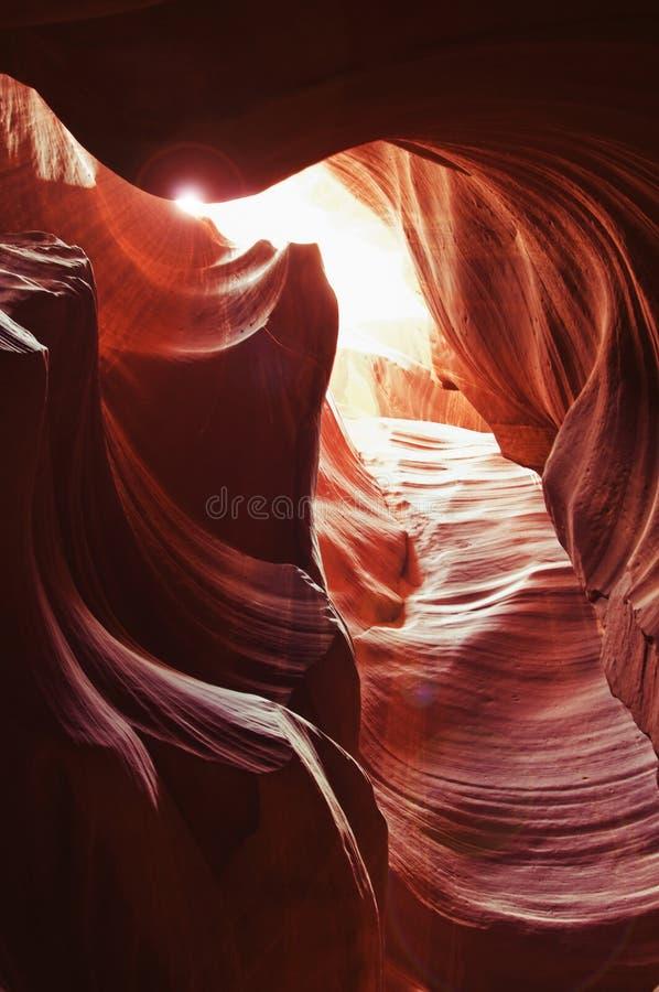 cavernes de gorge d'antilope image stock