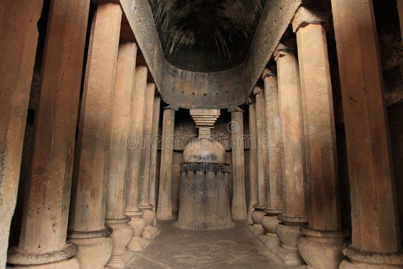 Cavernes de Pandu Leni images stock